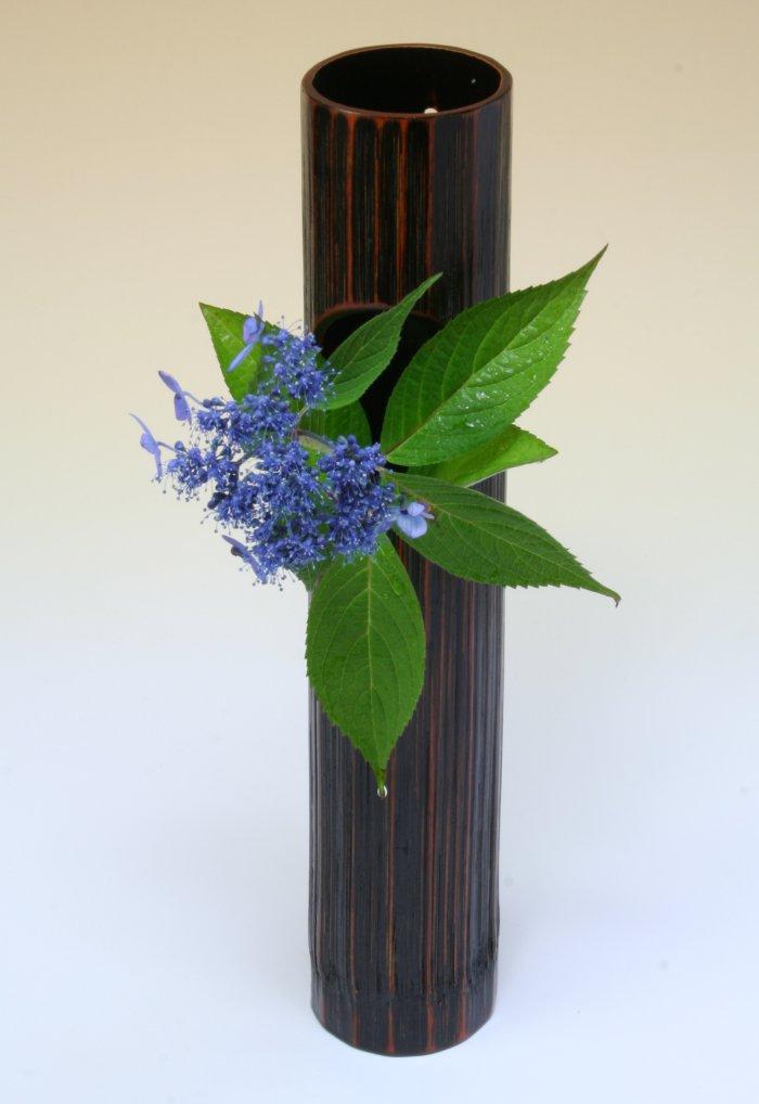 画像1: 竹製「丸窓(小)」 自然の竹に生ける喜び
