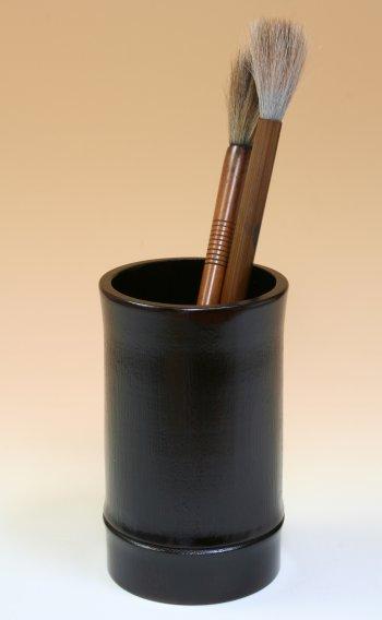 画像3: 「筆筒(ひっとう)・竹節」 筆や筆記具を立てましょう