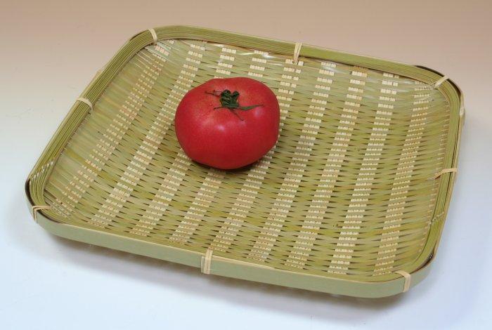 画像2: 「青竹盛皿(角)26cm」 楽しい食卓に