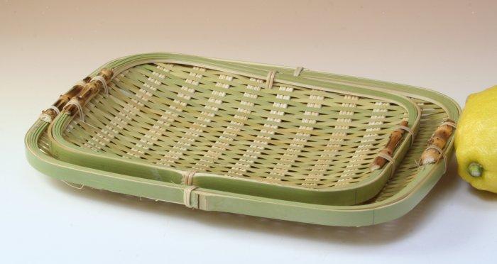 画像3: 「青竹盛皿(角長)17×22cm」 楽しい食卓に