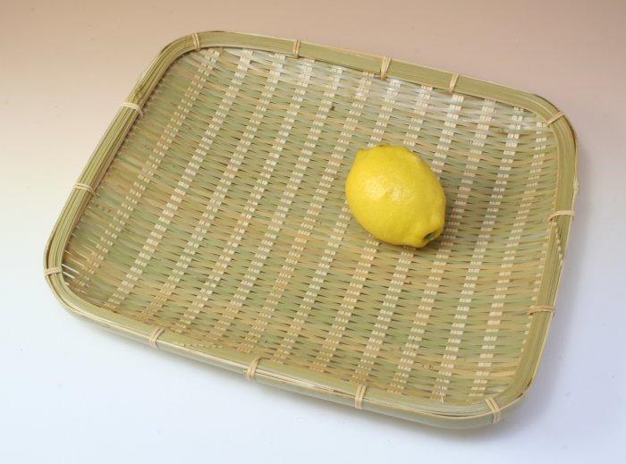 画像1: 「青竹盛皿(角長)27×31cm」 楽しい食卓に