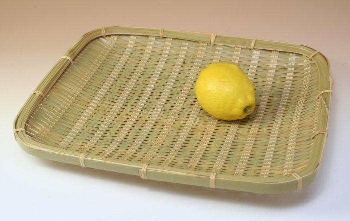 画像2: 「青竹盛皿(角長)27×31cm」 楽しい食卓に