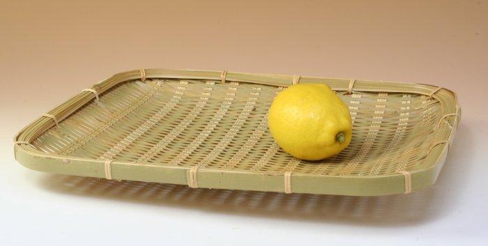 画像3: 「青竹盛皿(角長)27×31cm」 楽しい食卓に