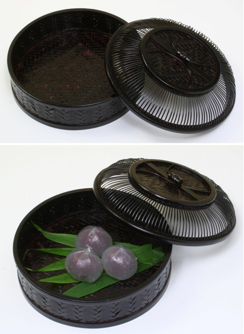 画像3: 竹製「網代菓子器・丸」 *おもてなしの心*