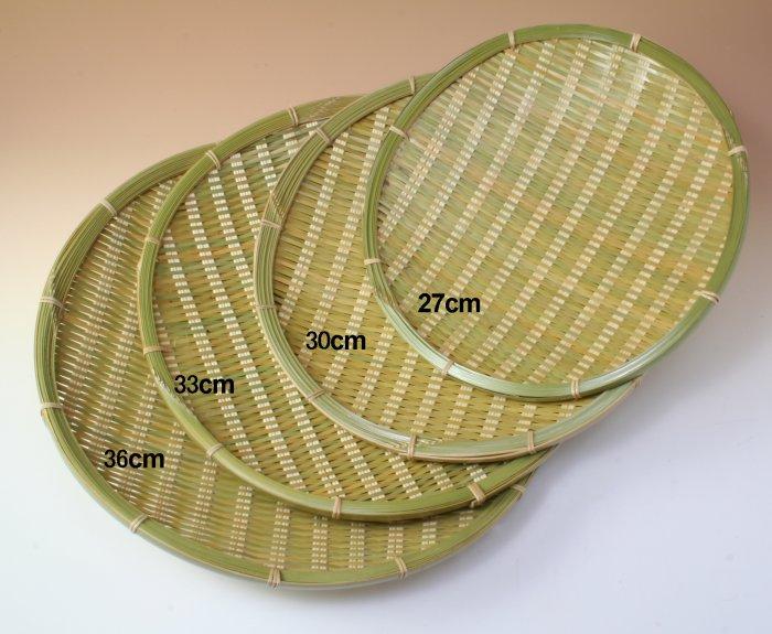 画像2: 「青竹盛皿(丸)30cm」 楽しい食卓に