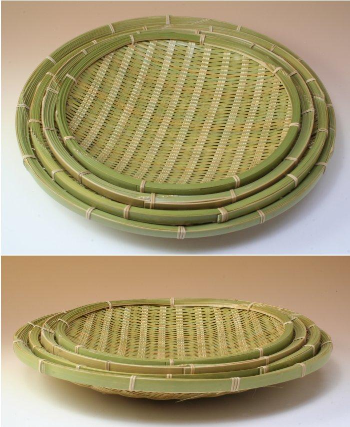画像3: 「青竹盛皿(丸)30cm」 楽しい食卓に